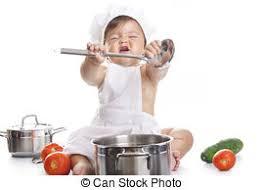 jouer a la cuisine rigolote séance garçon chef cuistot équipement fond