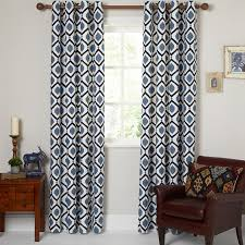Geometric Pattern Window Curtains by Eyelet Curtains Showroom In Ahmedabad Gujarat Shop For Ready Made