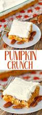 Pumpkin And Cake Mix Dessert by Pumpkin Crunch Plain Chicken