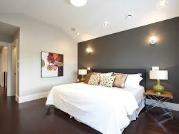 light walls woodwork bedroom contemporary with recessed