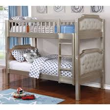 American Freight Bunk Beds by Furniture Of America Beatrice Twin Twin Bunk Bed In Champagne