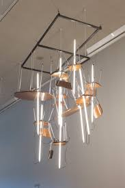 lighting ideas fluorescent lights with hanging light