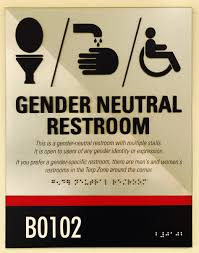 Gender Inclusive Bathroom Sign by Good Practices Inclusive Restrooms And Signage Lgbt Equity Center