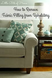 Crypton Super Fabric Sofa by Quick Tip How To Remove Fabric Pilling From Upholstery