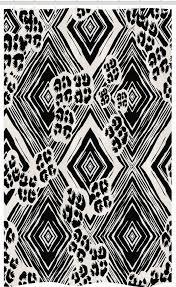 abakuhaus duschvorhang badezimmer deko set aus stoff mit haken breite 120 cm höhe 180 cm abstrakt ink pinselstil argyle kaufen otto