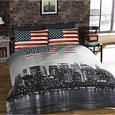 housse de couette amazone new york parure de lit new york nyc housse de couette 200cm x