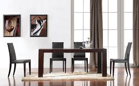 Stylish Modern Dining Room Tables Italian Wooden Extendable Table Alaska 61900