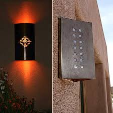 lighting design ideas modern outdoor wall sconce lighting mounted