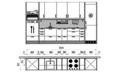 plan pour cuisine gratuit plan cuisine gratuit 20 plans de cuisine de 1 m2 à 32 m2 kitchens