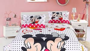 Minnie Mouse Bed Decor by Bedding Set Minnie Mouse Bedroom Furniturecool Features