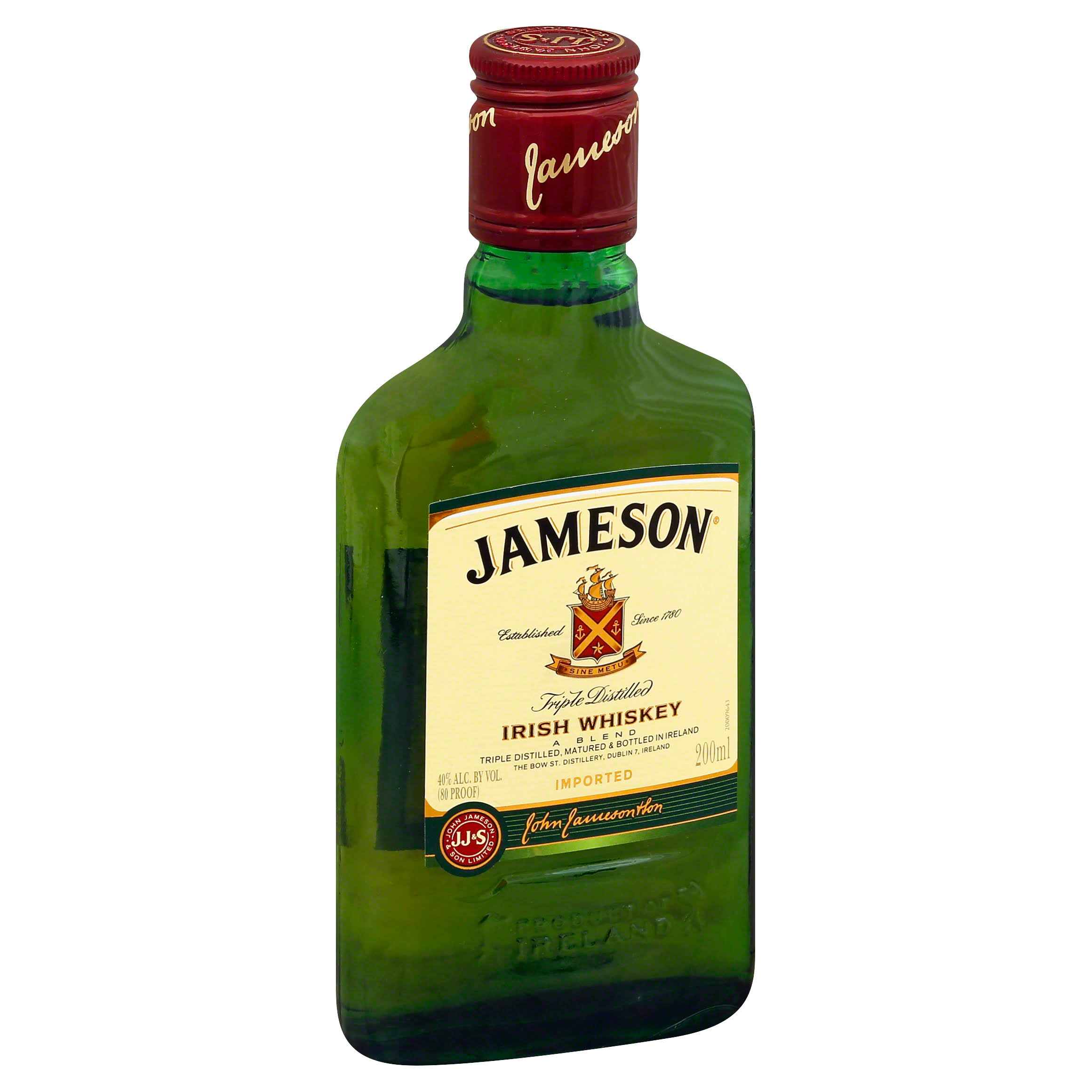 Jameson Irish Whiskey - 200 ml bottle