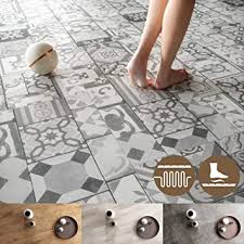 newroom vinylboden 5 5mm klick vinyl bodenbelag i fußbodenheizung geeignet i 39 99 pro m i einzelpaket 2 15m i bad geeignet fliesenoptik leise