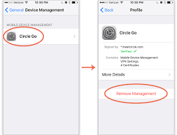 How do I remove Circle Go from my device iOS – Circle Support