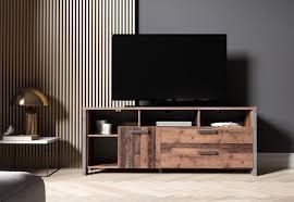 newroom lowboard tv board wood wildeiche vintage landhaus tv schrank fernsehtisch rack wohnzimmer kaufen otto