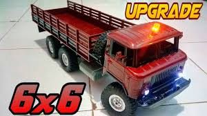Upgrade 6x6 Rc Truck Military Wpl B-24 | Modify A Toy Grade RC | Rc ...