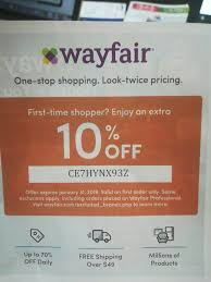 Wayfair 10 Off Coupon Code 2018 - Hello Molly Promo Codes January ... Coupons Off Coupon Promo Code Avec 1800flowers Radio 10 Off Amazon Code Dicks Sporting Goods Coupon Best July 4th Sales To Shop Right Now Curbed West Elm Moving Adidas In Store Five 5x Lowes Printablecoupons Exp 53117 Red Lobster Canada Save Your Entire Check Kohls Coupons Codes December 2018 Childrens Place 30 Find More Wayfair For Sale At Up 90 Discount 2019 Amazon 20 Order Mountain Rose Herbs Shop Huge Markdowns On Bookcases The Krazy Lady Reitmans Boxing Day Sale On Now An Extra 60