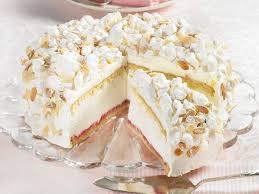 käse sahne torte mit baiser