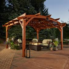 Outdoor Shades For Patio by Pergolas Starfire Direct