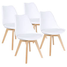 Amazon.com - Furmax Mid Century Modern DSW Dining Chair Upholstered ... White Ding Chair Swedish Nordic House Shop Wooden With Slatted Back Set Of Two On Better Homes And Gardens Collin Distressed Amazoncom Target Marketing Systems 2 Tiffany Chairs Detail Feedback Questions About Giantex 4 Pvc Homesullivan Rosemont Antique Wood Intertional Fniture Direct Room With Solid Wood Upholstered Button Tufted Leatherette Of Grace Rain Pier 1 Creme