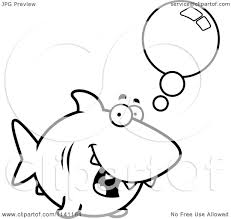 Shark Danger Colouring Pages Page 3
