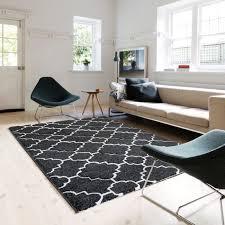teppich für wohnzimmer flur trendiger marokko muster m7410