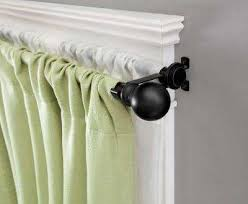 Menards Traverse Curtain Rods by Double Curtain Rods Double Window Curtains Memes Ceiling Mount