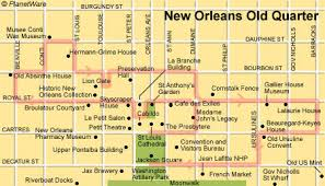 orleans tourism bureau orleans quarter floor plan map orleans locations