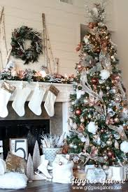 Glam Metallic Farmhouse Christmas Tree Michaels Dream Challenge
