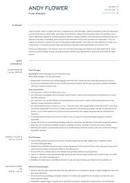 Plant Manager Resume - Raptor.redmini.co Product Manager Resume Example And Guide For 20 Best Livecareer Bakery Production Sample Cv English Mplate Writing A Resume Raptorredminico Traffic And Lovely Food Inventory Control Manager Sample Of 12 Top 8 Production Samples 20 Biznesasistentcom
