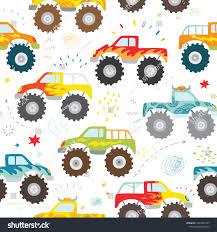 100 Monster Trucks For Kids Hand Drawn Doodle Truck Stock Vector Royalty Free