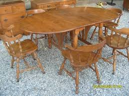 Ethan Allen Dining Room Furniture by Santa Clarita Ethan Allen Baumritter Maple Double Drop Leaf Dining