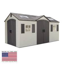 6 X 12 Shed Kit by Lifetime 8 X 12 5 Ft Outdoor Storage Shed Hayneedle