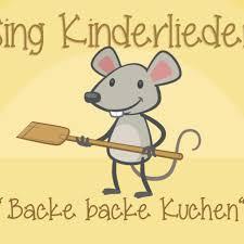 backe backe kuchen lyrics and by kinderlieder