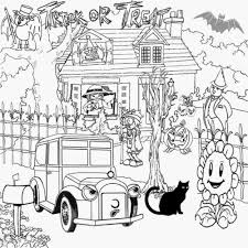 Halloween Pictures To Print And Color