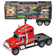 100 Toy Car Carrier Truck Prextex 24 Detachable Rier Transporter With
