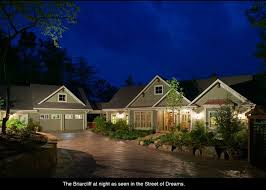 RLD Briarcliff This Best Selling Plan Has A Rustic And Craftsman Look With Breezeway Detached Garage It Was Designed For Hillside Lots