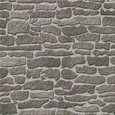 Grey Stone Wallpaper 60Cm X 43Cm Hobbycraft
