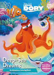 Disney Pixar Finding Dory Mega Coloring Parragon Books Ltd 9781474838566 Amazon