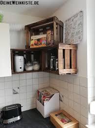 weinkisten küche