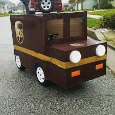 UPS Truck Halloween Costume. Placed Over The Top Of Little Tikes ... Amazoncom Little Tikes Princess Cozy Truck Rideon Toys Games Super Fun With The Classic Rideon Pickup Truck Youtube Trucks Replacement Grill Decal Pickup Fix Repair 2in1 Roadster Green Shop Your Way Online Coupe Red Tikes Ads Buy Sell Used Find Great Prices Lady Bug Pillow Racer Ships To Canada Black Pick Up Amazoncouk Dirt Diggers 2in1 Dump Trucks And Products Find More For Sale At Up To 90 Off