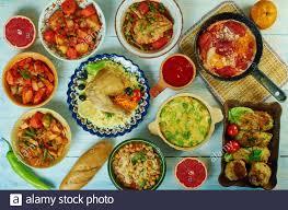 tunesische küche stockfotografie alamy