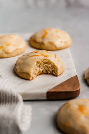 Melt In Your Mouth Italian Iced Orange Cookies Ambitious Kitchen