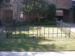 Halloween Cemetery Fence by Graveyard Fence 6 Steps With Pictures