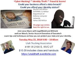 Cyber Hacking! * Identity Theft! * Fraud & Scams! - 22 MAY 2018 Thatcher Transportation Team Group Inc Roadpro Truck Carriers And Organizations Thank Truckers Utah Trucking Association Photos Facebook 300 West 800 South To 2100 Eeering Reddaway Earns Top Honor In Godfrey Awards W Clyde Like An Elephant With A Bunch Of Flamingos Toquerville Man For The Love Quality Tire Company On Twitter Join Us At How Driver Might Not Know They Are Hauling People Cargo Bigd Cstruction