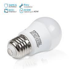torchstar 4 5w a15 led light bulb 40w equivalent refrigerator