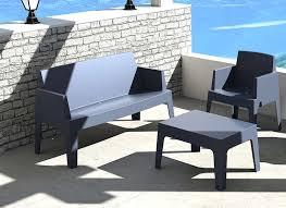canapé de jardin design ensemble de jardin design et salon de jardin achatdesign