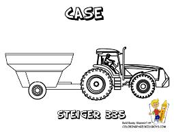 Clipart Tractor Fine Areas 1226 Tracteur Fourche Coloriage Dessin