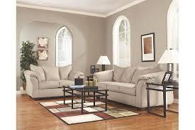 Ashley Furniture Light Blue Sofa by Darcy Sofa Ashley Furniture Homestore