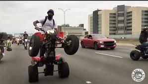 Video: ATV, Dirtbike Riders Blitz New Orleans Traffic, Block ...