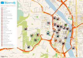 Map Of Portland Attractions | WASHINGTON STATE | Pinterest | Tourist ... North East New England Amtrak Route Map Super Easy Way To Get 12 Great Food Trucks That Will Cater Your Portland Wedding Blue Star Donuts Feed Me Four Great Apps For Fding Food Trucks On Twitter The New Restaurant Baharat Is These Are The 19 Hottest Carts In Mapped Portlands Musthave Cart Dishes Maine Menu Truck Road Trip 40 Cities 30 Days Map